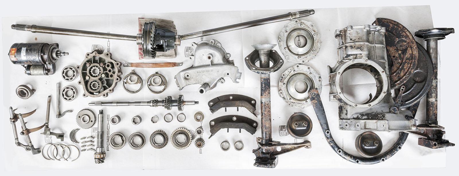 Porsche - Transmission - Disassembly