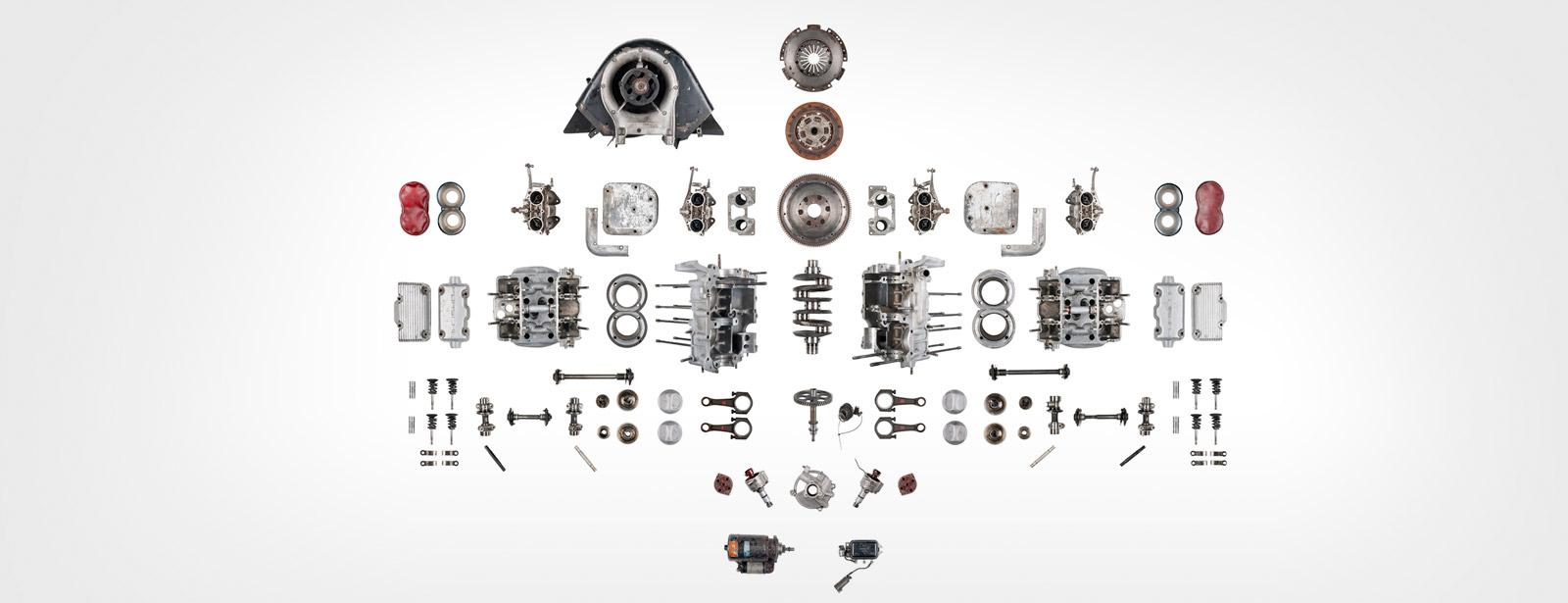 Porsche - Moteur - Démontage