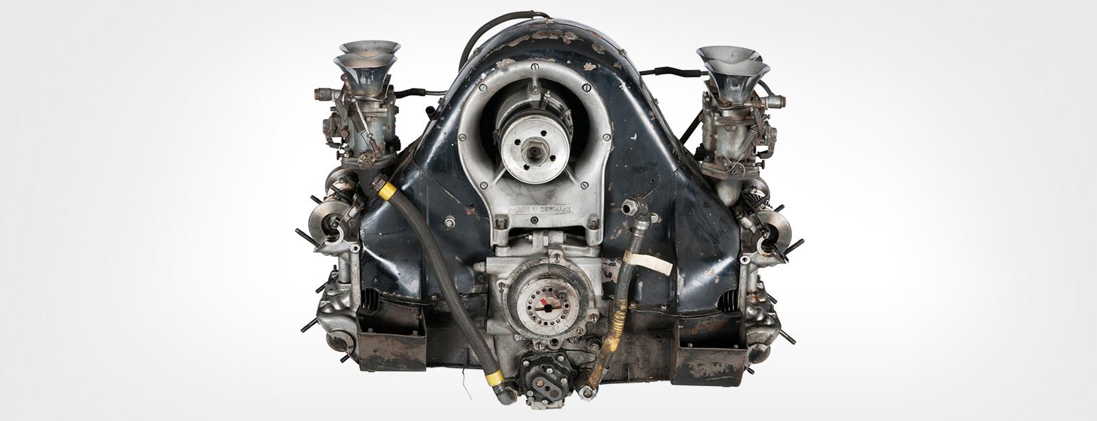 Porsche - Moteur - Entrée