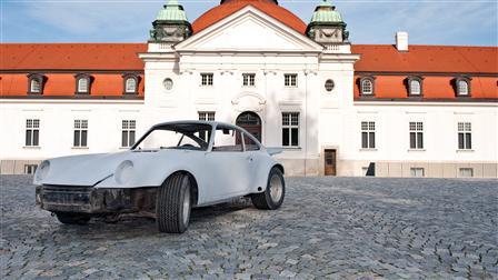 Porsche Réception de la voiture et dépose des éléments