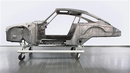 Porsche - 車身作業與脫漆