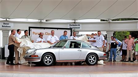 Porsche 保時捷交車給中獎者,2011 年保時捷遊行