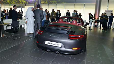 Porsche Centre Doha celebrates arrival of the new Porsche 911