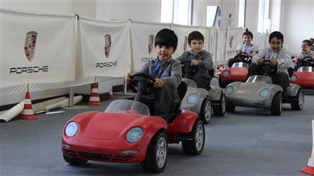 Porsche Al Rowad School