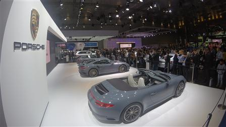 Porsche The year just got more exciting. Qatar Motor Show 2016