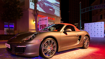 Porsche Centre Doha inaugurates Medina Centrale showroom during Sports Car Together Day event