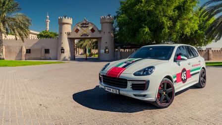 Porsche In Ajman, at the Ajman Musuem