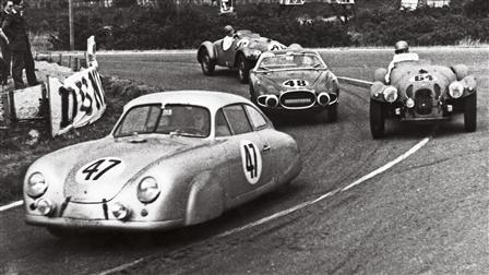 Porsche 356 SL at Le Mans 1952
