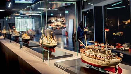 Porsche Model of a ship