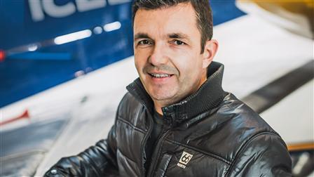 Pétur Lentz, president of Porsche Club Iceland