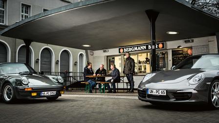Members of the Porsche Club Westfalen