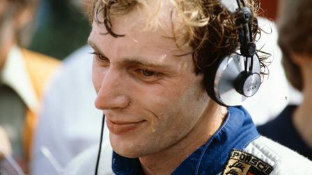 Race-car driver Stefan Bellof (1983)