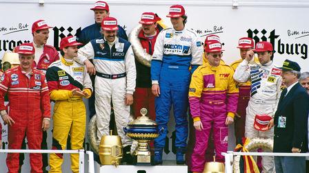 Porsche Award ceremony of the 24 Hours Nürburgring (1993)