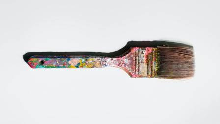 Porsche Andy Warhol's paintbrush