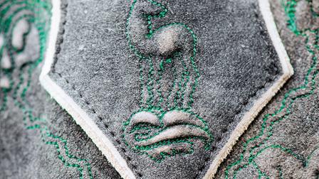 Closeup of a Lederhosen