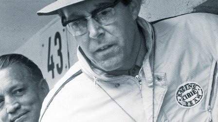 Peter Falk, former Director of Pre-Series and Racing Development, 1967