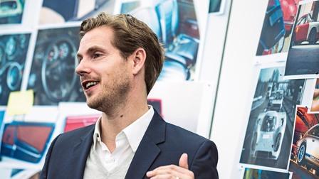 Porsche Ivo van Hulten, head of interior design