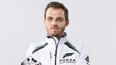 Niklas Krellenberg, champion in the virtual World Rallye Championship
