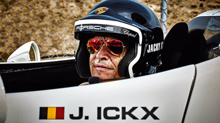 Jacky Ickx in a Porsche 936/81