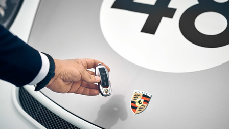 Car keys of the 911 Speedster