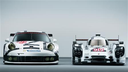 Porsche 911 RSR, 919 Hybrid
