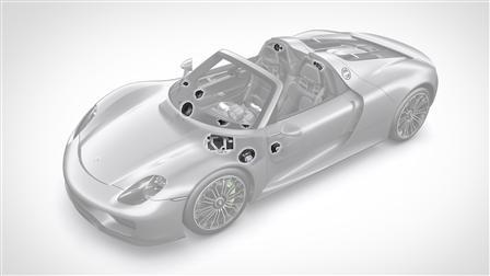 Porsche Burmester-System 918 Spyder