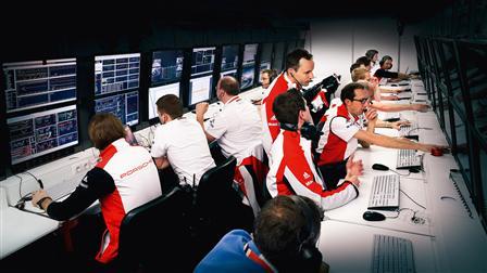 Porsche Mission Control