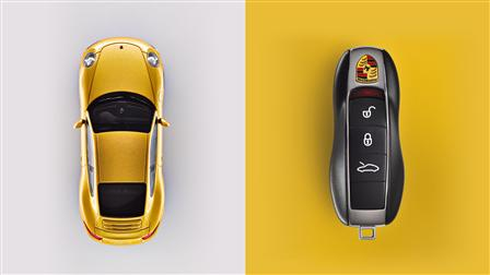 Porsche 991 Key