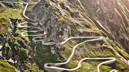 Porsche Alpine passes