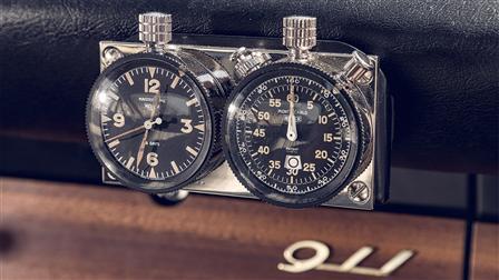 Porsche Original Mechanical Stop-Watch and Clock Set