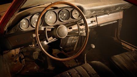 Porsche 901 from 1964, Interior