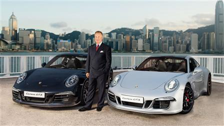 Porsche Hans Michael Jebsen, CEO Jebsen & Co. Ltd., Hong Kong