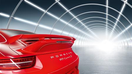 Porsche 911 (type 991) 專用Aerokit Cup空氣力學套件