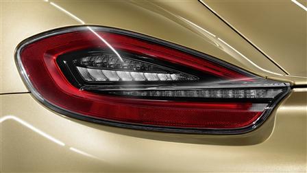 Porsche Cayman (type 981) 專用深色燈面尾燈