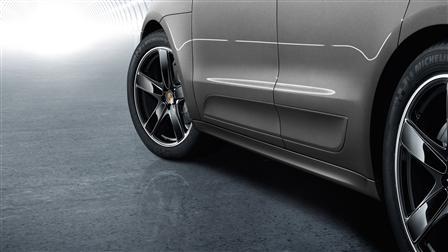 Porsche Macan專用SportDesign側裙組