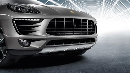 Porsche Macan專用不鏽鋼下護板