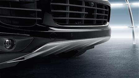 Porsche Cayenne (E2第二代) 專用不鏽鋼下護板