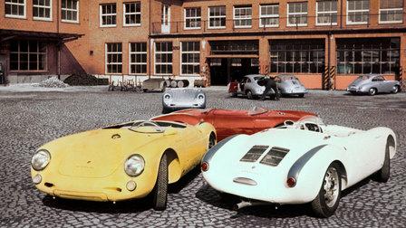 1956: Porsche 550 Spyder in Werk 1