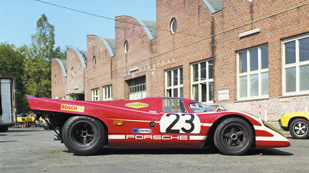1970: 917 KH Coupé 1970 in Werk 1 (winning vehicle at Le Mans 1970)