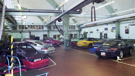 Porsche 1999: Workshop in Werk 1