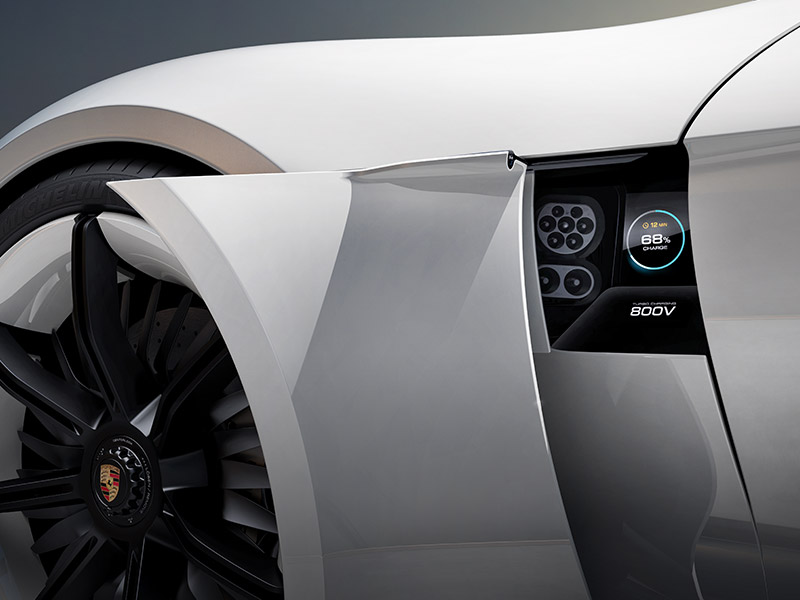 Porsche e-power - New Possibilities with 800-Volt Charging