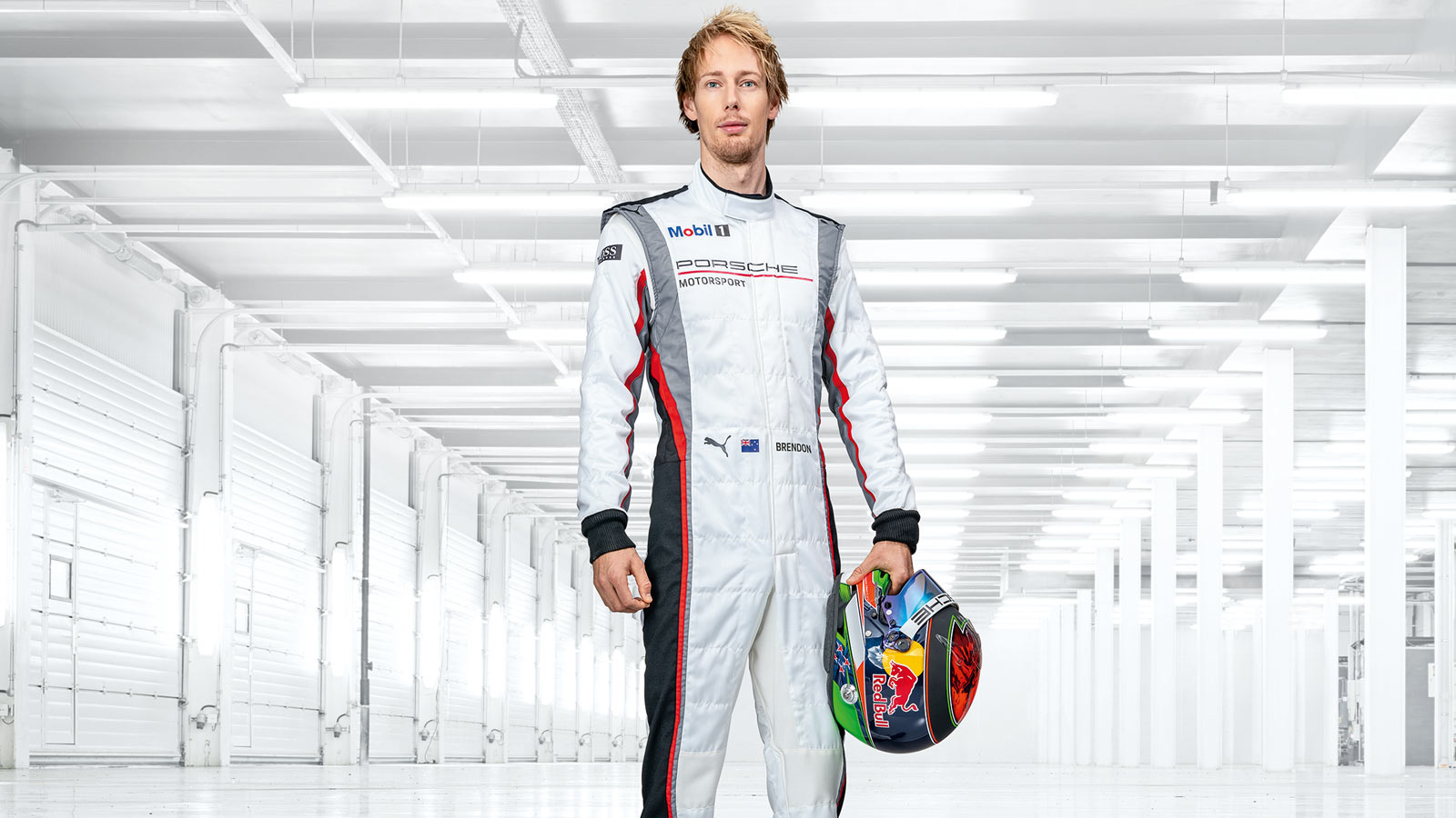 Porsche - Brendon Hartley (Pilote d'essais officiel) NZL