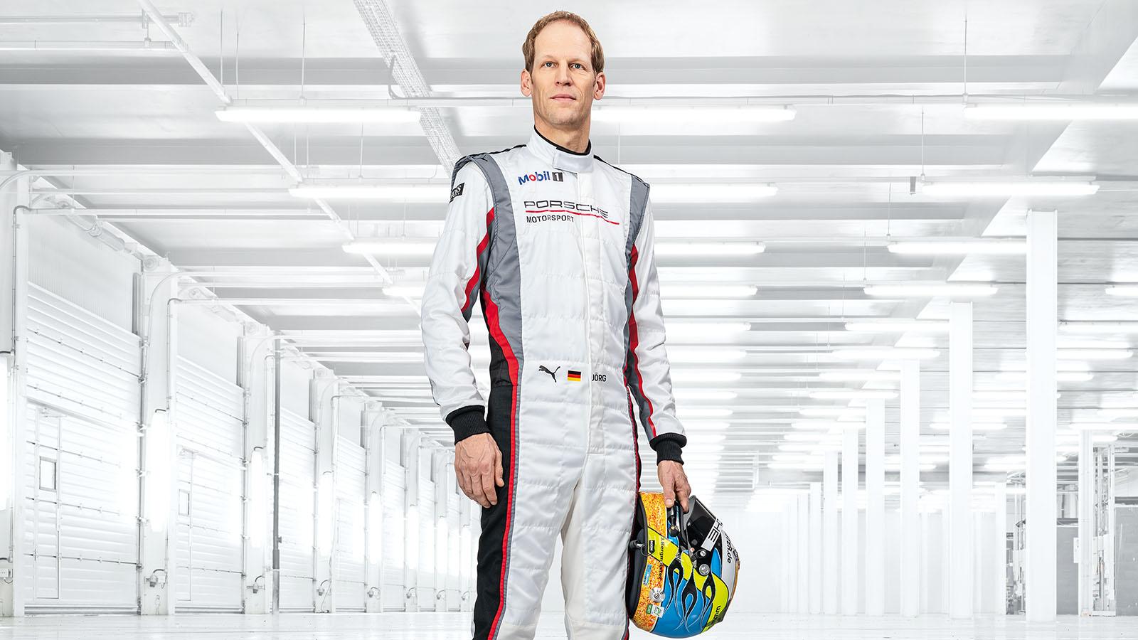 Porsche - Jörg Bergmeister GER