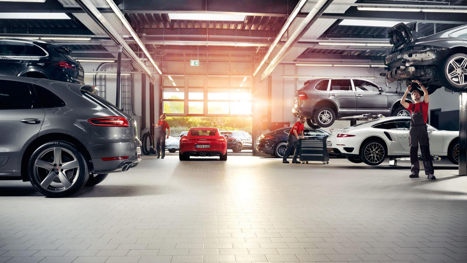 Porsche - Time saving