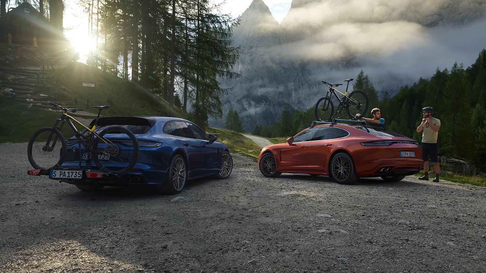 Porsche - Porte-vélos