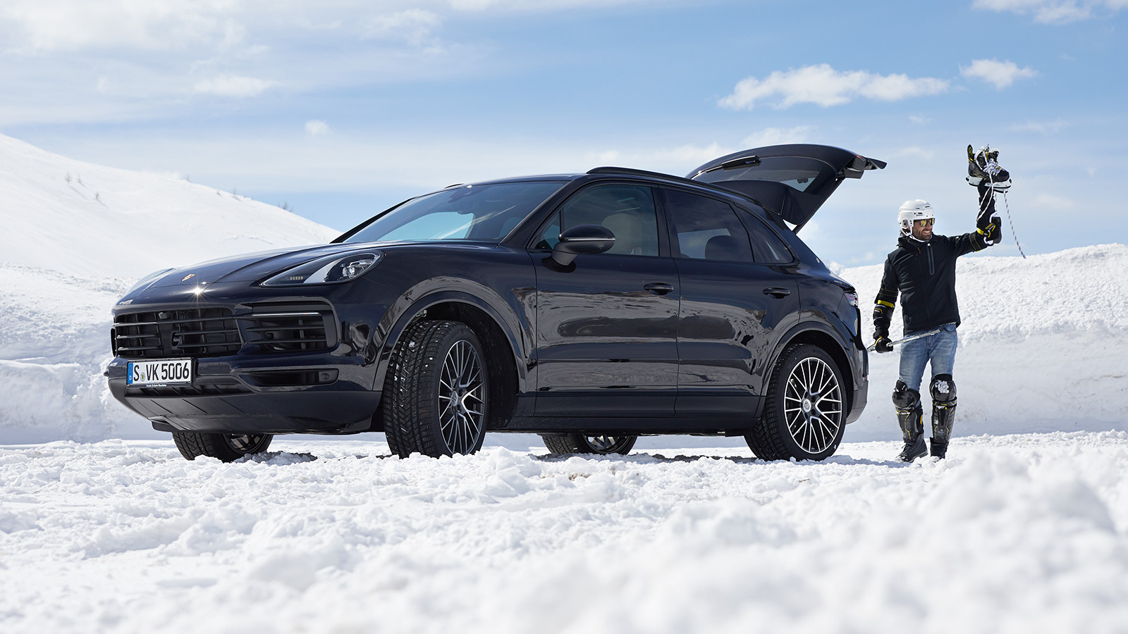 Porsche - Extérieur et performance