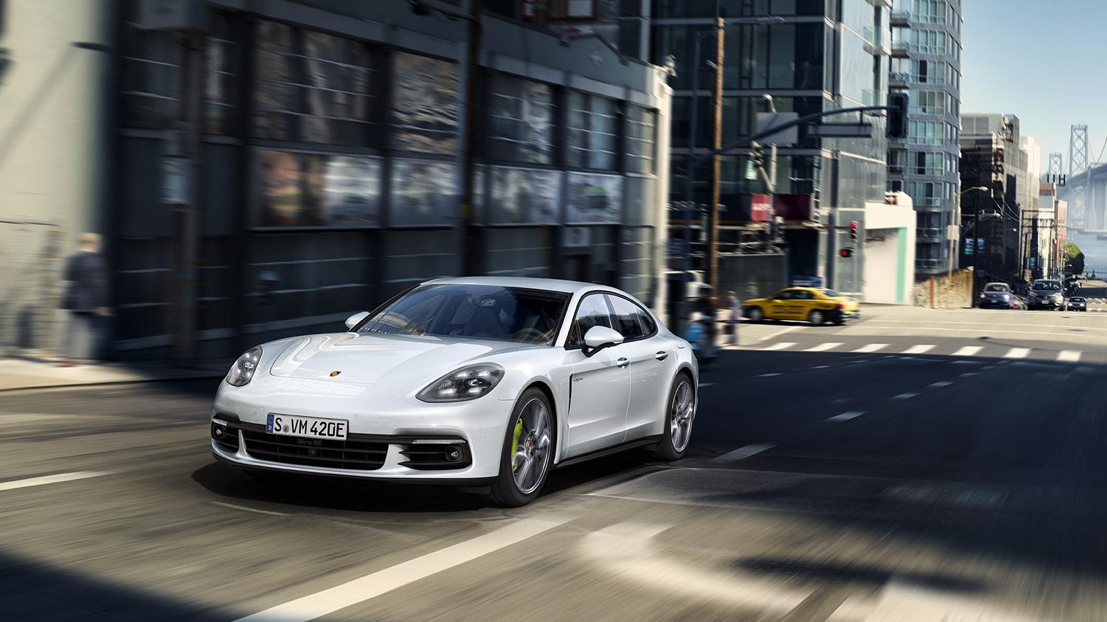Porsche Driving modes