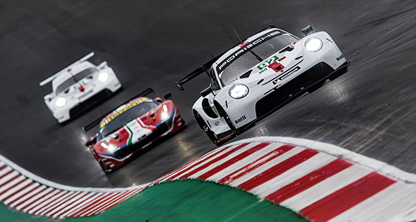 Porsche 911 RSR (2019), Porsche GT Team (92, 91)