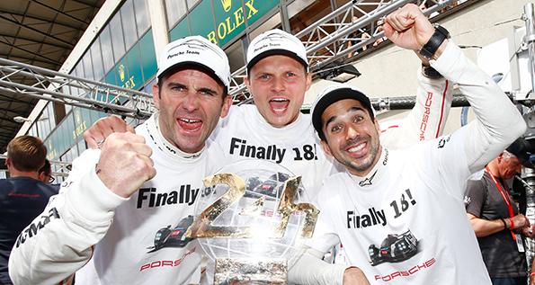 24h Le Mans 2016: Romain Dumas, Marc Lieb, Neel Jani