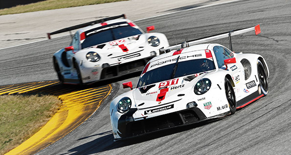 Porsche 911 RSR, Porsche GT Team (911, 912)